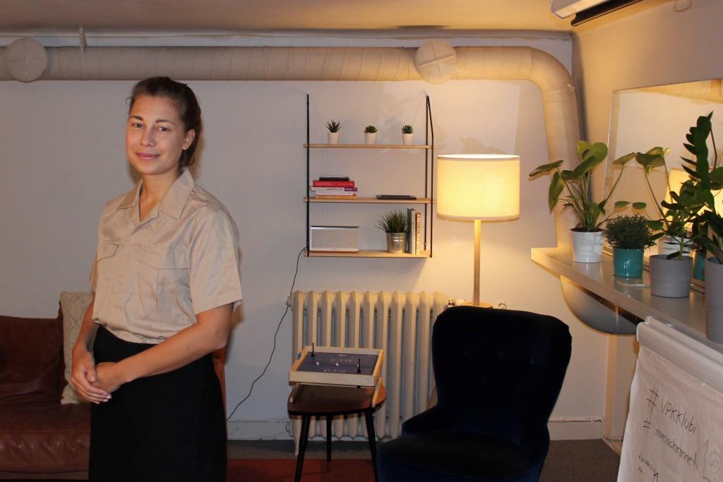 Matilde Peltonen Monochrome-toimistolla