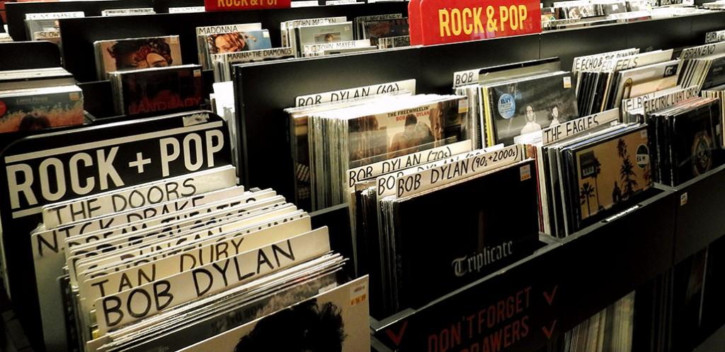 Levykauppa, Bob Dylan