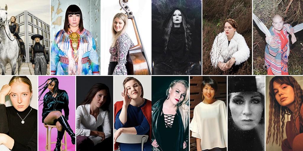 Naismusiikintekijöitä ja -säveltäjiä