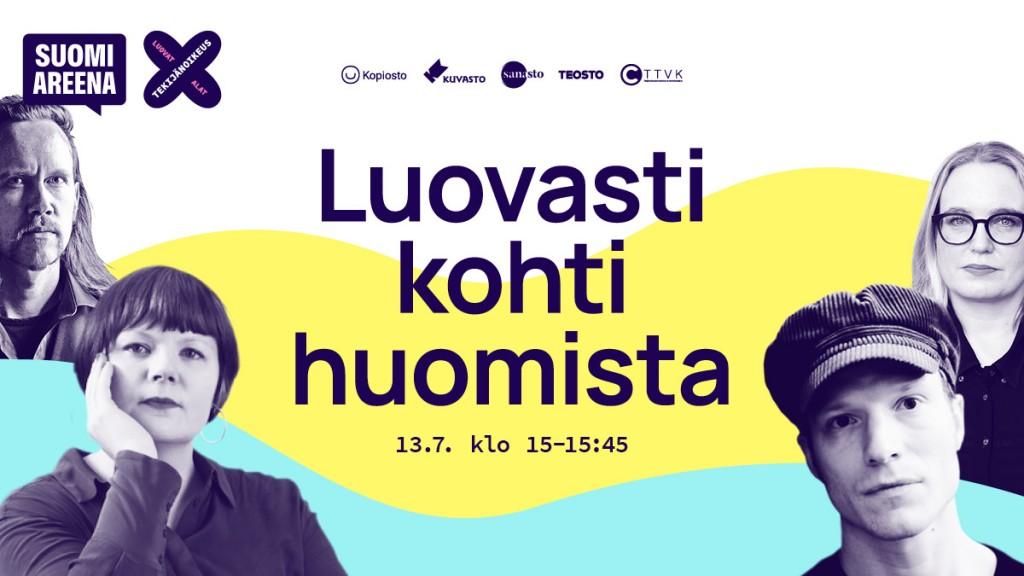 SuomiAreena mainos