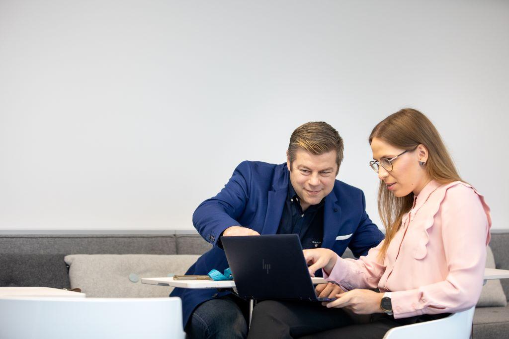 Kimmo Kauhanen ja Helmi Yli-Äyhö